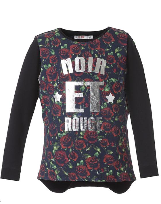 Μπλούζα με φλοράλ μοτίβο 16-117219-5 - ΦΛΟΡΑΛ - 9128-213/12/309/176
