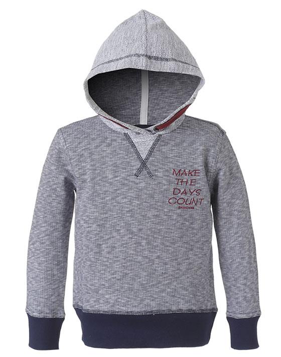 Μπλούζα με κουκούλα αχνούδιαστο φούτερ 12-118131-5 - ΜΑΡΕΝ - 11599-001/12/292/109