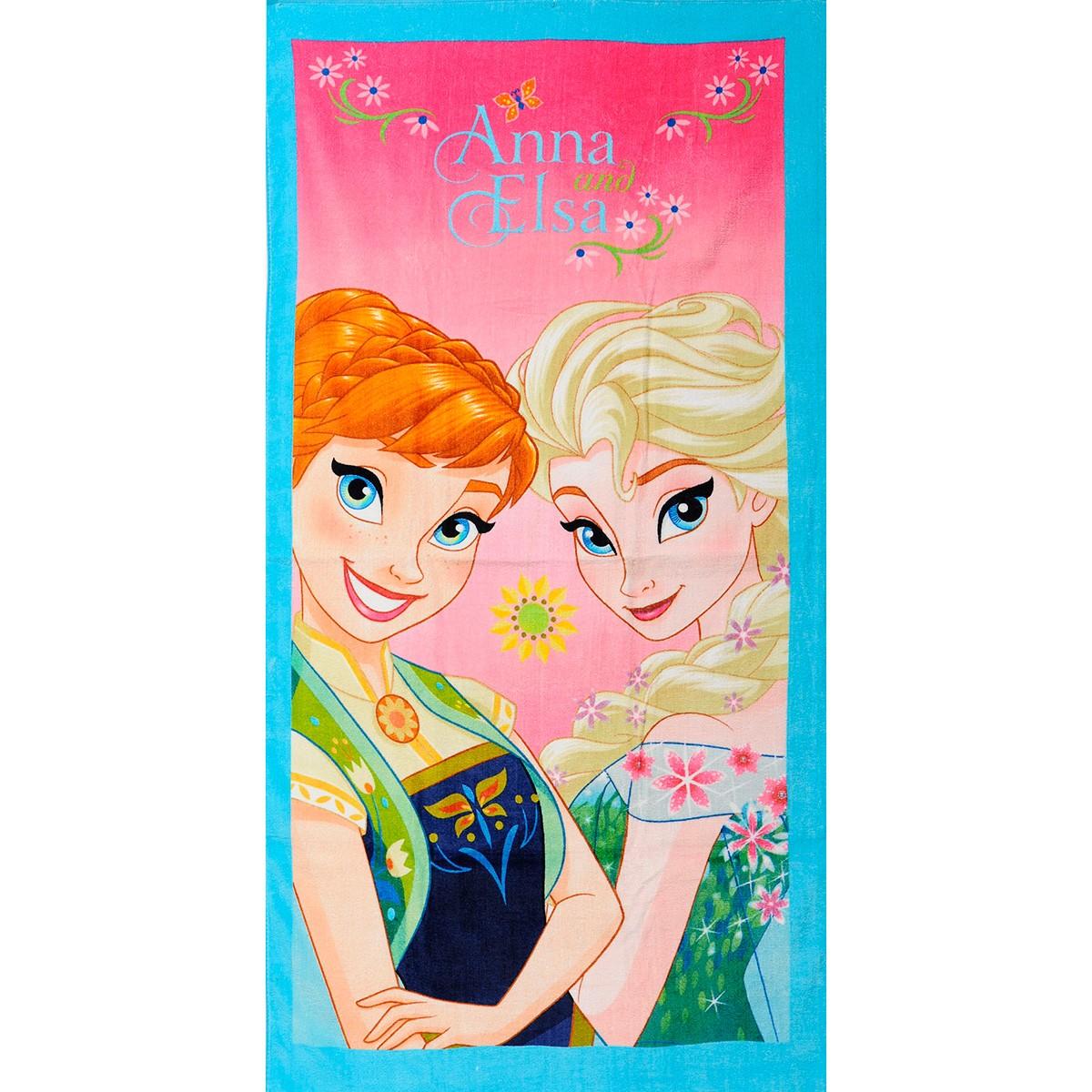 Πετσέτα Θαλάσσης Παιδική Frozen 01 Dim Collection 70x140εκ. - No Color - frozen-01-8/6/226/95
