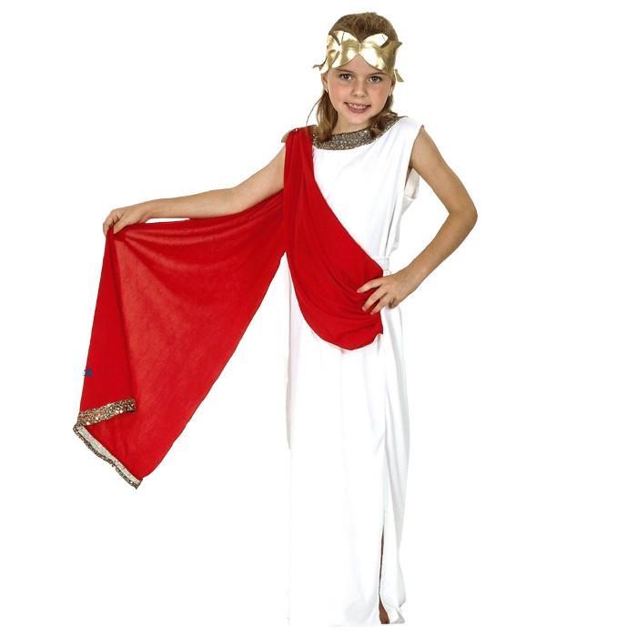 Στολή Παιδική Ελληνίδα Θεά (No 4-6, 7-10, 11-14) - No Color - 3.2009/6/226/95