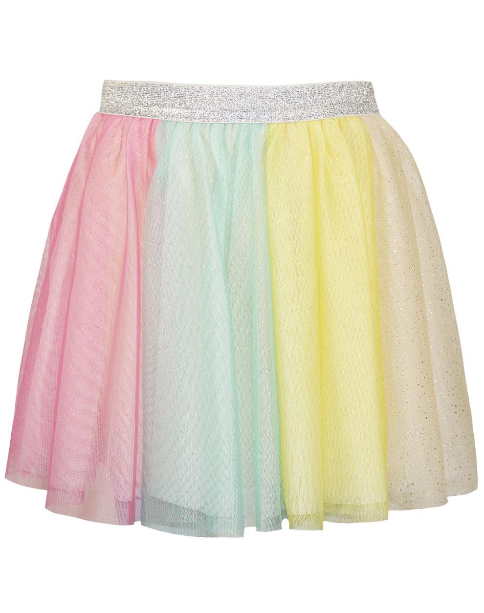 Τουτου φούστα με θέμα rainbow 15-220304-3 - Εμπριμέ - 16725-...