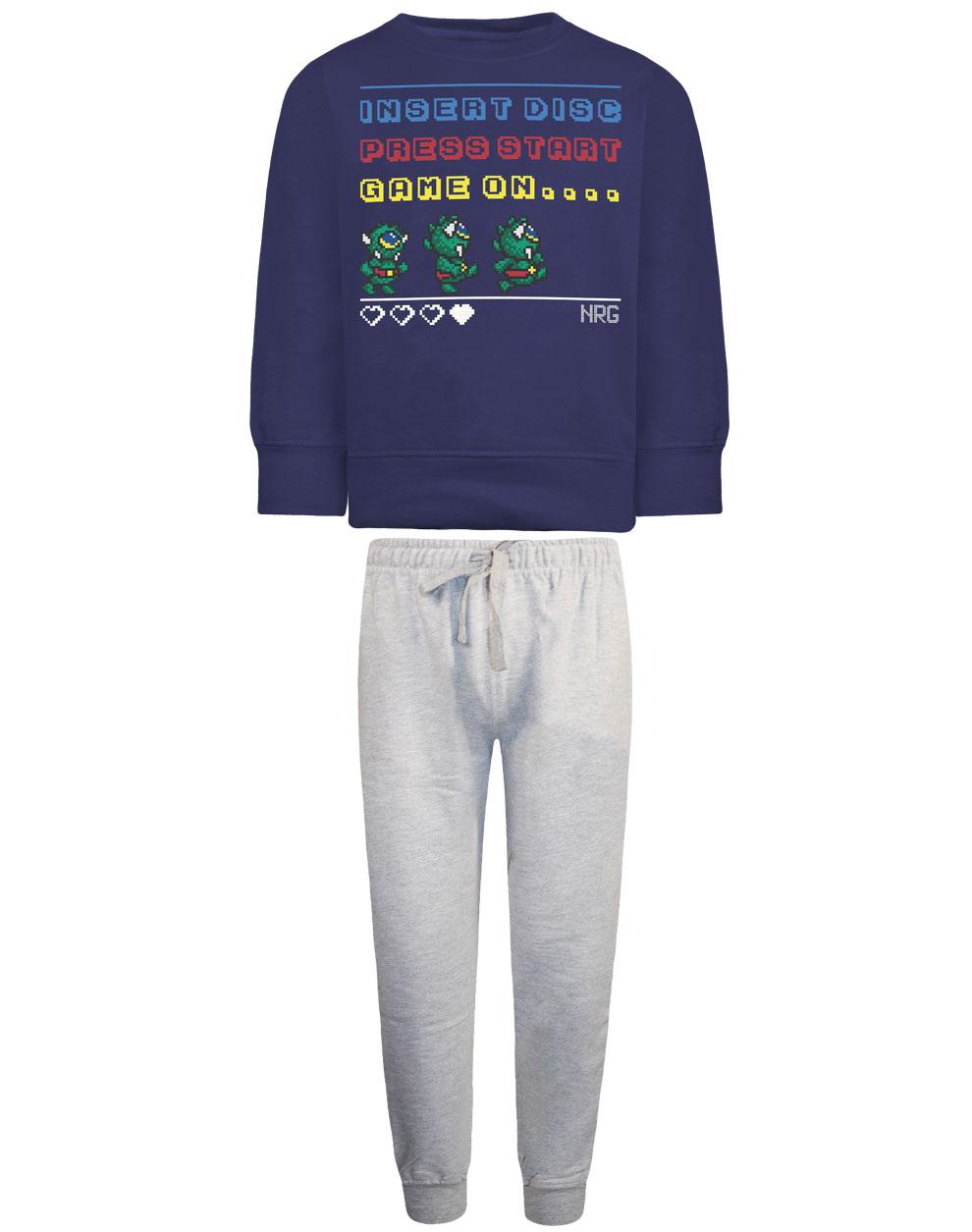 Φόρμα παντελόνι και μπλούζα τύπωμα > 12-120186-0-9 - ΜΕΛΑΝΖΕ - 18848-42/12/295/103