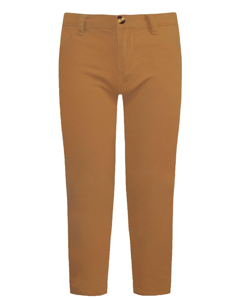 Ελαστικό παντελόνι chino μονόχρωμο ύφασμα καμβάς με εσωτερικό ρυθμιζόμενο λάστιχο μέσης σε slim fit 13-120009-2 - ΤΑΜΠΑ - 18169-37/12/327/111