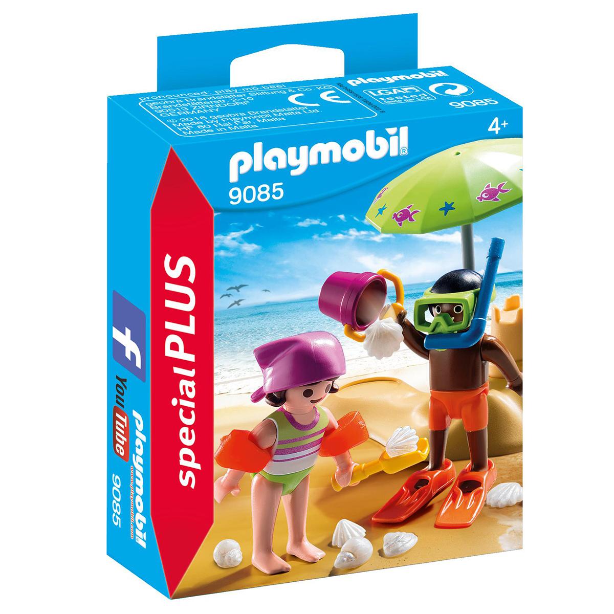 Παιχνίδι Playmobil Παιδάκια στην Παραλία 00022339 - MULTICOLOR - 4098-0043/3/196/95