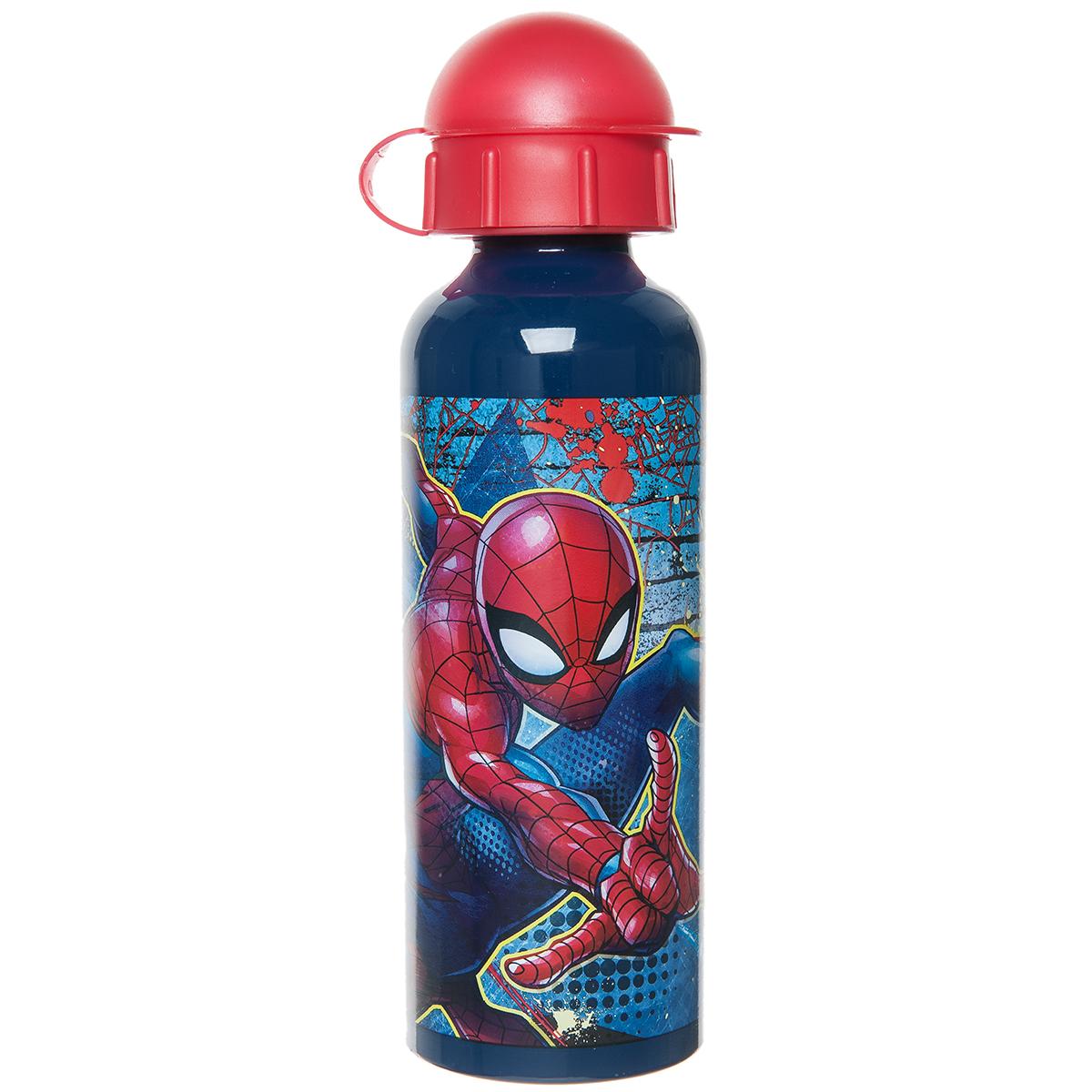 Παγούρι Αλουμινίου Spiderman (520ml) 00022399 - MULTICOLOR - 2954-0043/3/196/95