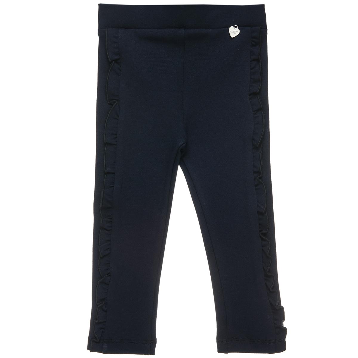 Παντελόνι κολάν με διακοσμητικό βολάν (Κορίτσι 18 μηνών-5 ετών) 00211807 - Μπλε - 4463-0002/3/10/173