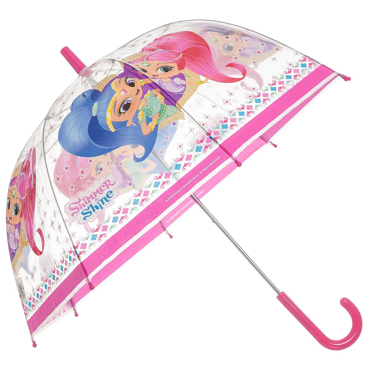 Ομπρέλα διάφανη Shimmer & Shine 00022586 - Φούξια - 5181-0010/3/26/95