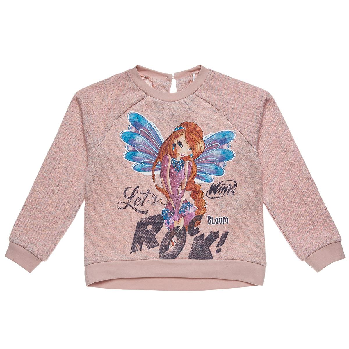 d90b23cd844 Μπλούζα Winx με τύπωμα Bloom (Κορίτσι 6-10 ετών) 00121321 - Σομόν -