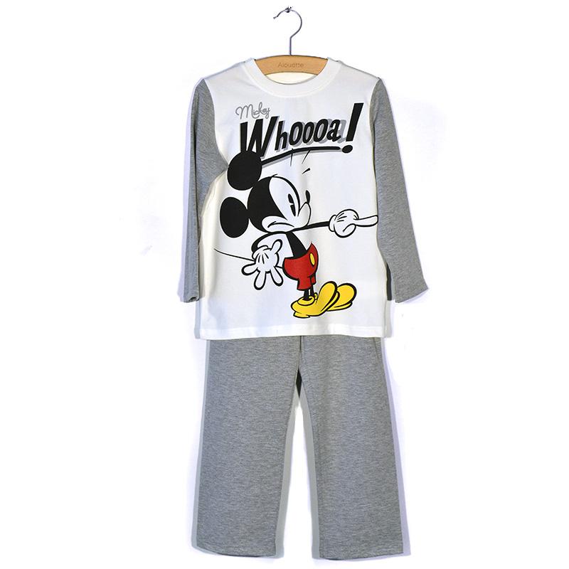 7689ecc97ab Πυτζάμα Disney Mickey Mouse (Αγόρι 4-12 ετών) 00190254 - Pitsiriki.gr