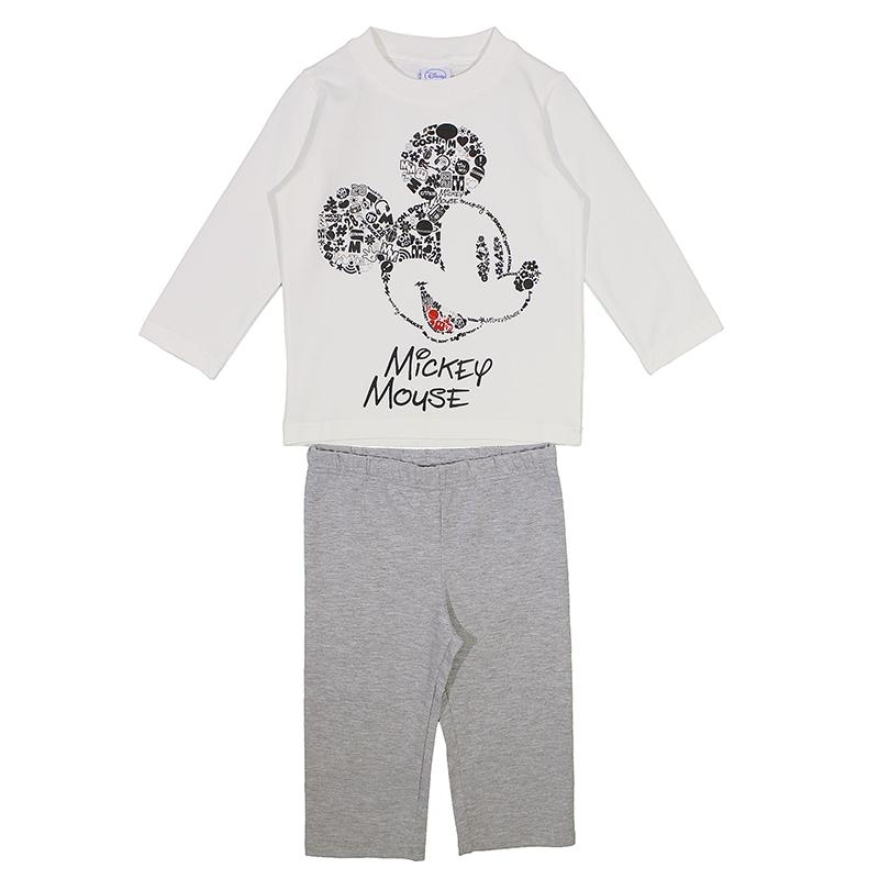 03c424e1106 Πυτζάμα Disney Mickey Mouse (Αγόρι 12 μηνών-3 ετών) 00390127 ...