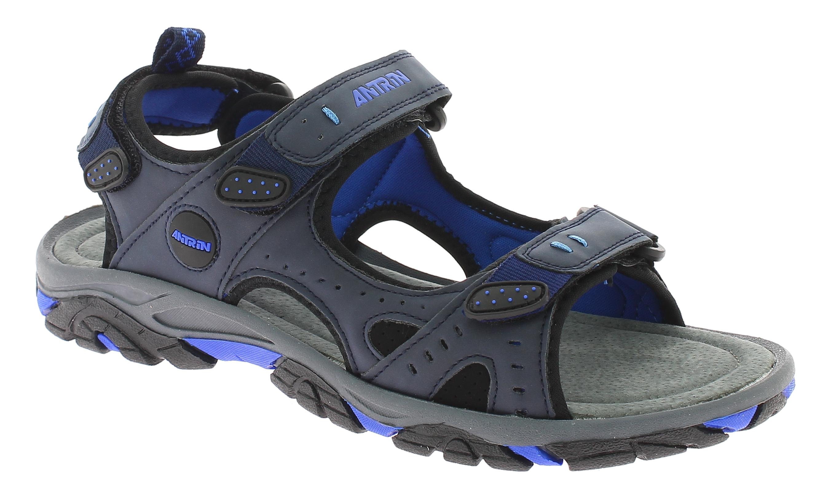 ANTRIN Ανδρικό Πέδιλο TORONTO-105 Μπλέ - Μπλε - TORONTO-105 BLUE-blue-43/4/10/91