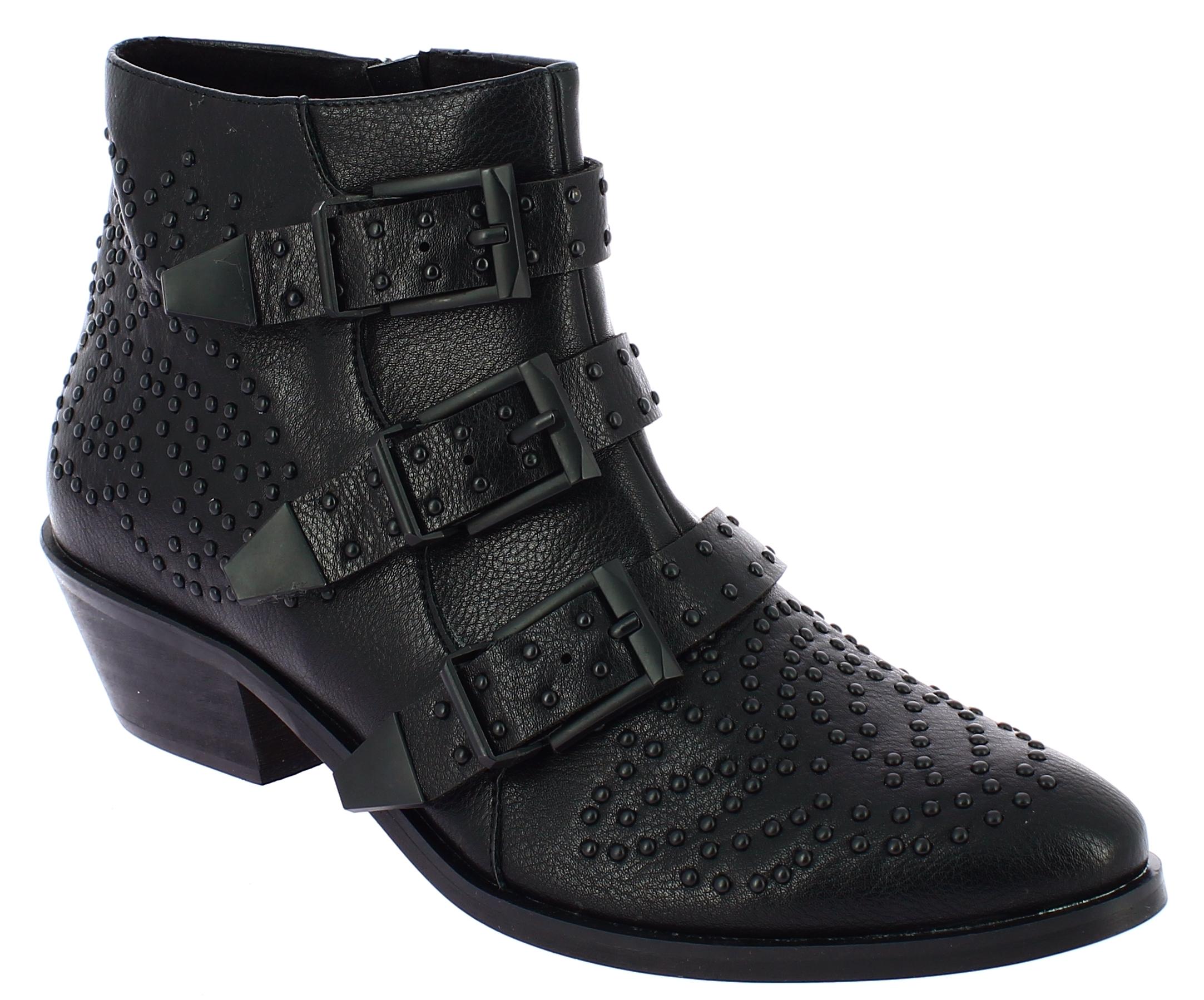 CORINA Γυναικείο Μποτάκι 107.8741 Μαύρο - Μαύρο - 8741 BLACK-CORINA-black-36/4/1/81