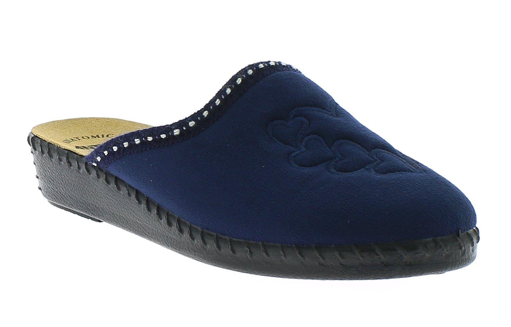 ANTRIN Γυναικεία Παντόφλα 30 260 Μπλε - Μπλε - 30 260 NAVY-blue-35/4/10/67