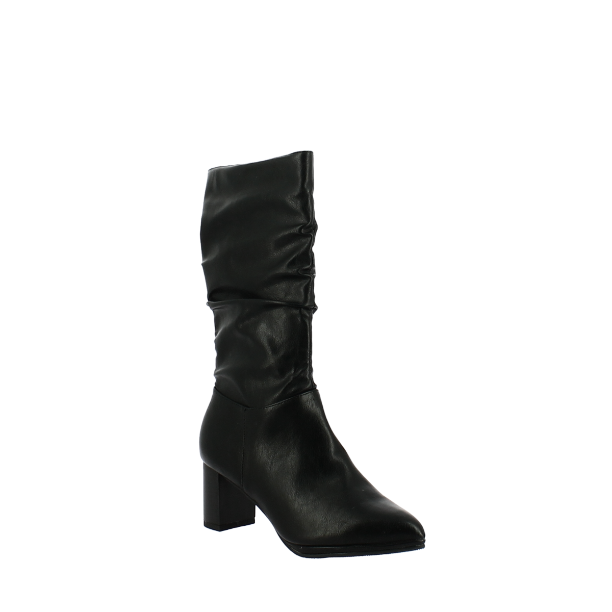 BALLERI Γυναικεία Μπότα 19 BL204-2A Μαύρο - Μαύρο - 19 BL204-2A BLACK-black-36/4/1/81