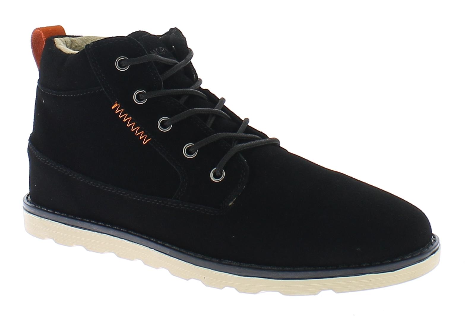 NORWAY Ανδρικό Μποτάκι B237364 Μαύρο - Μαύρο - B237364 BLACK-black-44/4/1/92