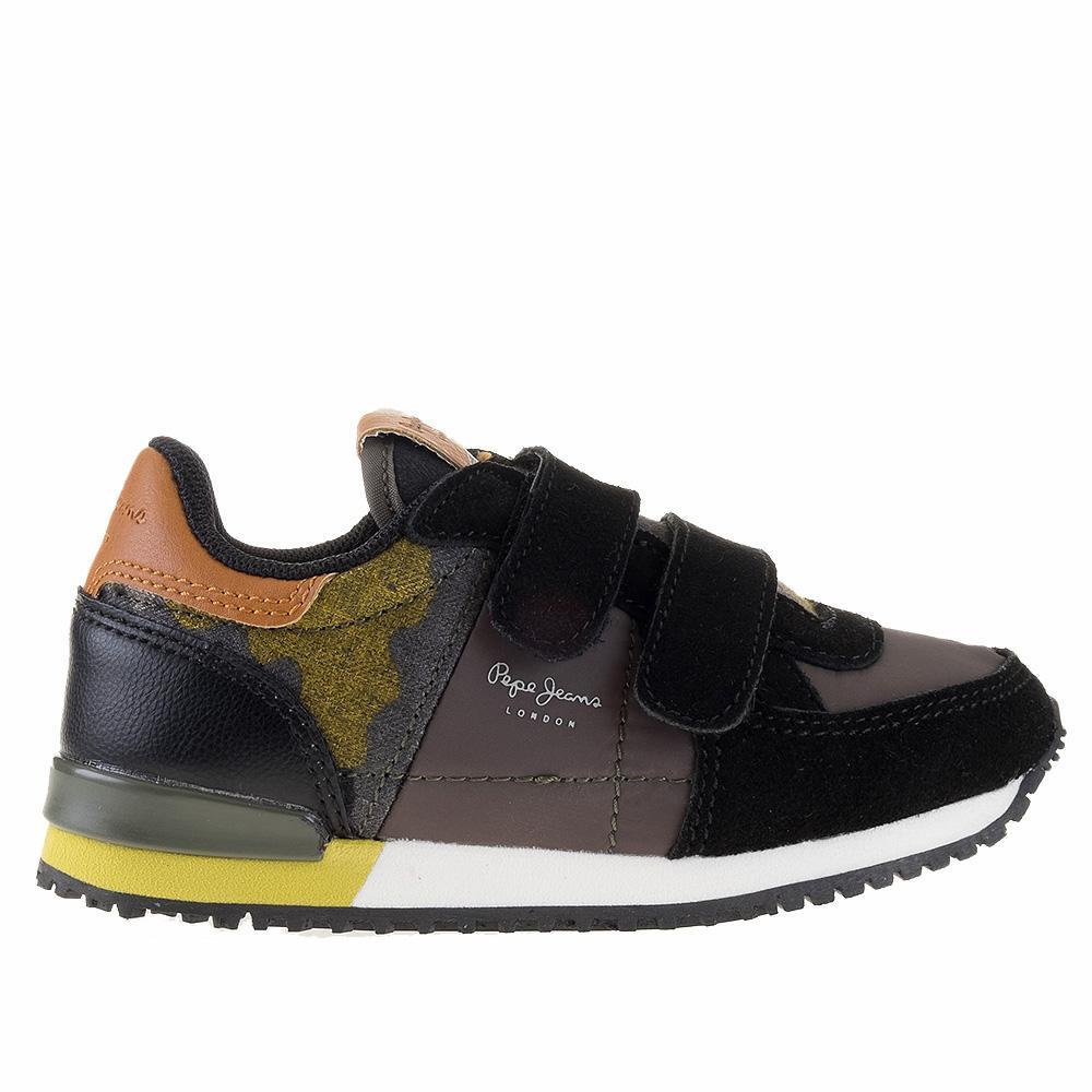PEPE JEANS Sydney Sneaker 26-31 - Μαύρο - PJ30375/02/2/1/75