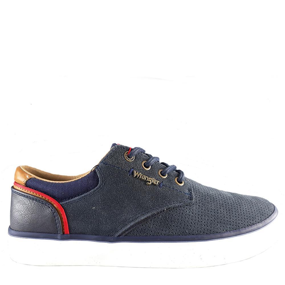 WRANGLER MONUMENT SUEDE Sneaker 40-46 - Μπλε - WR01003/09/2/10/80